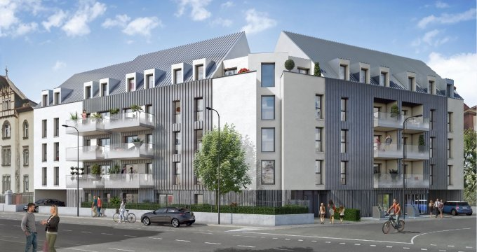 Achat / Vente programme immobilier neuf Colmar proche de la gare (68000) - Réf. 3415