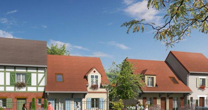 Achat / Vente programme immobilier neuf Franconville limite Le Plessis-Bouchard (54830) - Réf. 1663