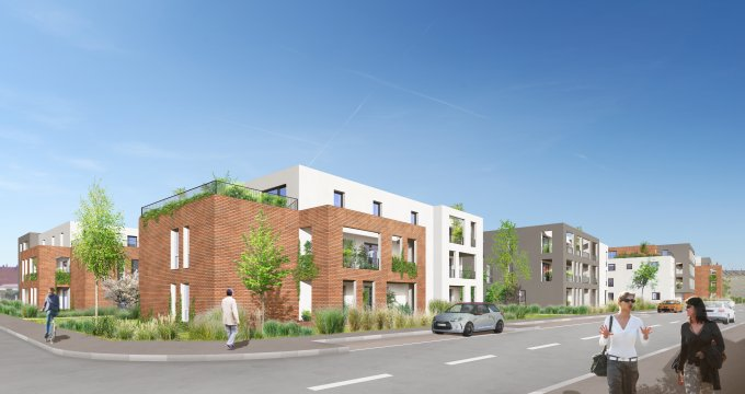 Achat / Vente programme immobilier neuf Haguenau proche du centre-ville (67500) - Réf. 2297