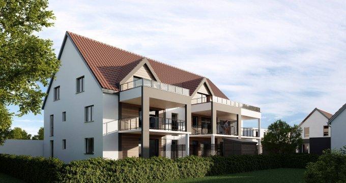 Achat / Vente programme immobilier neuf Hochfelden proche de la gare (67270) - Réf. 6090
