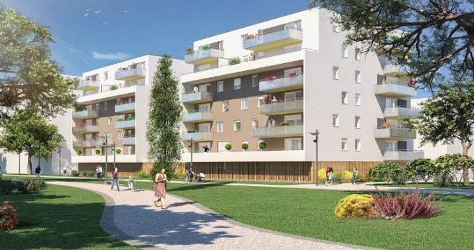 Achat / Vente programme immobilier neuf Mulhouse au pied du tramway (68100) - Réf. 4451