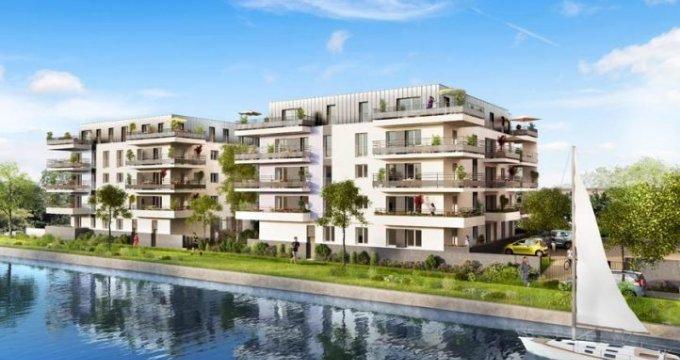 Achat / Vente programme immobilier neuf Nancy quartier des Trois Maisons (54000) - Réf. 36