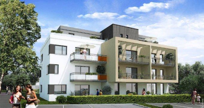 Achat / Vente programme immobilier neuf Pfastatt proche coeur de ville (68120) - Réf. 4106