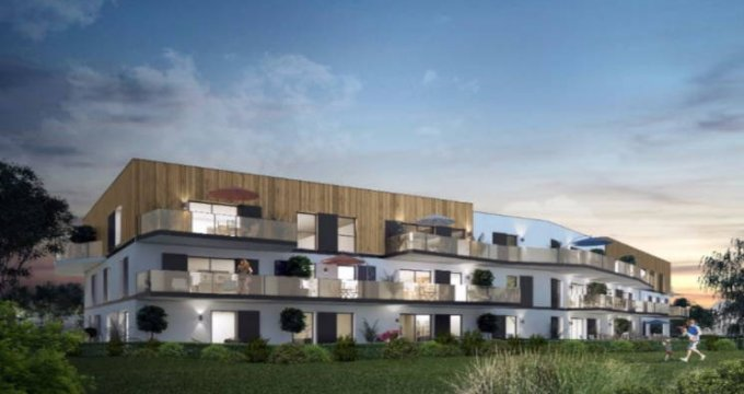 Achat / Vente programme immobilier neuf Souffelweyersheim proche canal de la Marne au Rhin (67460) - Réf. 3016