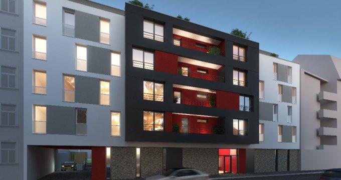 Achat / Vente programme immobilier neuf Strasbourg - Koenigshoffen (67000) - Réf. 1161