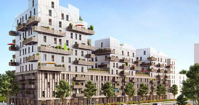 Achat / Vente programme immobilier neuf Strasbourg proche Jardin des Deux-Rives (67000) - Réf. 1732