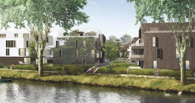 Achat / Vente programme immobilier neuf Strasbourg quartier de la Robertsau (67000) - Réf. 4995