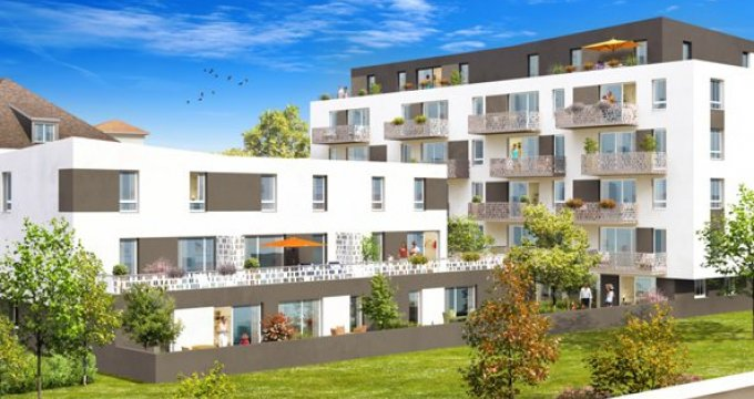 Achat / Vente programme immobilier neuf Strasbourg quartier Koenigshoffen (67000) - Réf. 399