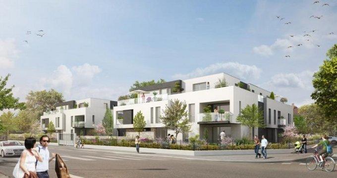 Achat / Vente programme immobilier neuf Strasbourg quartier Robertsau (67000) - Réf. 154