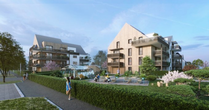 Achat / Vente programme immobilier neuf Strasbourg quartier Sud Neuhof (67000) - Réf. 5456
