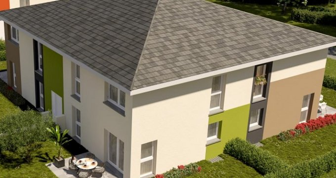 Achat / Vente programme immobilier neuf Thann proche Cernay (68800) - Réf. 3410