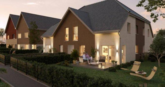 Achat / Vente programme immobilier neuf Zaessingue entre Bâle et Altkirch (68130) - Réf. 5733