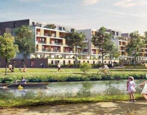 Achat / Vente programme immobilier neuf Bischheim proche du canal (67800) - Réf. 753