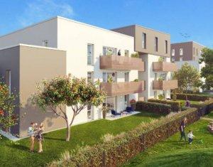 Achat / Vente programme immobilier neuf Colmar À 600 m de la gare Logelbach (68000) - Réf. 5969