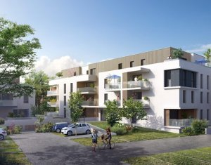 Achat / Vente programme immobilier neuf Illkirch-Graffenstaden proche du centre (67400) - Réf. 556