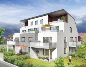 Achat / Vente programme immobilier neuf Illkirch-Graffenstaden quartier résidentiel (67400) - Réf. 2341