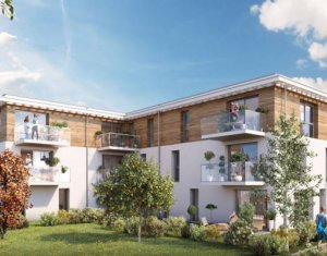 Achat / Vente programme immobilier neuf Mulhouse au cœur du quartier résidentiel de Dornach (68100) - Réf. 4636