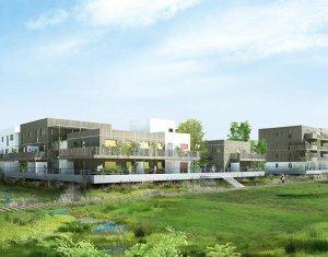 Achat / Vente programme immobilier neuf Ostwald sur les rives de l'étang de Bohrie (67540) - Réf. 1721