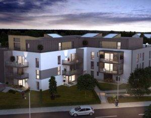Achat / Vente programme immobilier neuf Saint-Louis en plein cœur du quartier des 3 Frontières (68300) - Réf. 4079