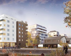 Achat / Vente programme immobilier neuf Schiltigheim à 10 minutes du centre strasbourgeois (67300) - Réf. 6117