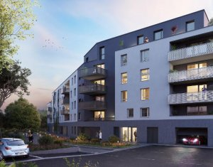 Achat / Vente programme immobilier neuf Strasbourg proche commerces et Tram (67000) - Réf. 5843