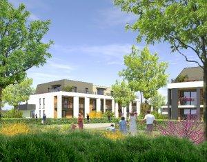 Achat / Vente programme immobilier neuf Strasbourg quartier de la Robertsau (67000) - Réf. 1556