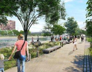 Achat / Vente programme immobilier neuf Strasbourg sur les bords du Bassin Vauban (67000) - Réf. 3910