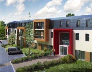 Achat / Vente programme immobilier neuf Thionville proche du parc résidence séniors (57100) - Réf. 585