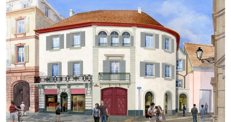 Achat / Vente programme immobilier neuf Colmar cœur de ville (68000) - Réf. 3414