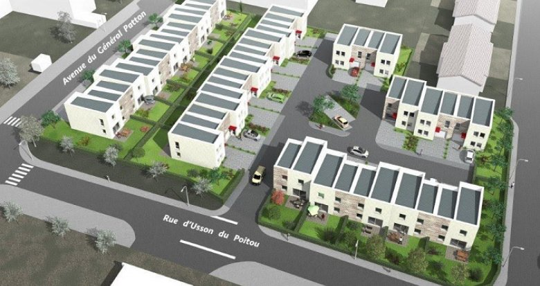 Achat / Vente programme immobilier neuf Folschviller proche commerces (57730) - Réf. 19