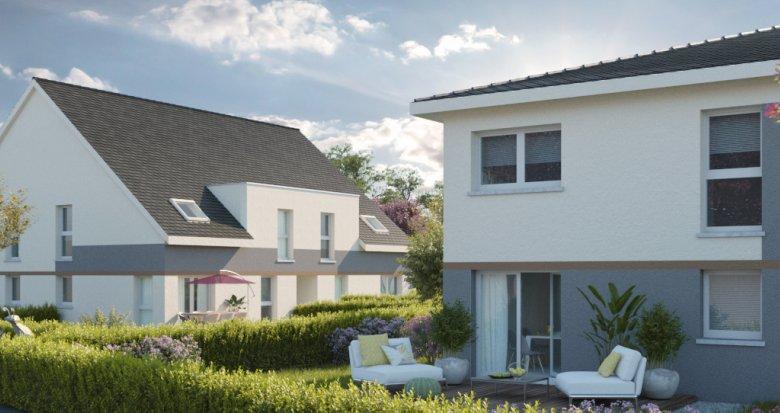 Achat / Vente programme immobilier neuf Herrlisheim entre Haguenau et Strasbourg (67850) - Réf. 2585