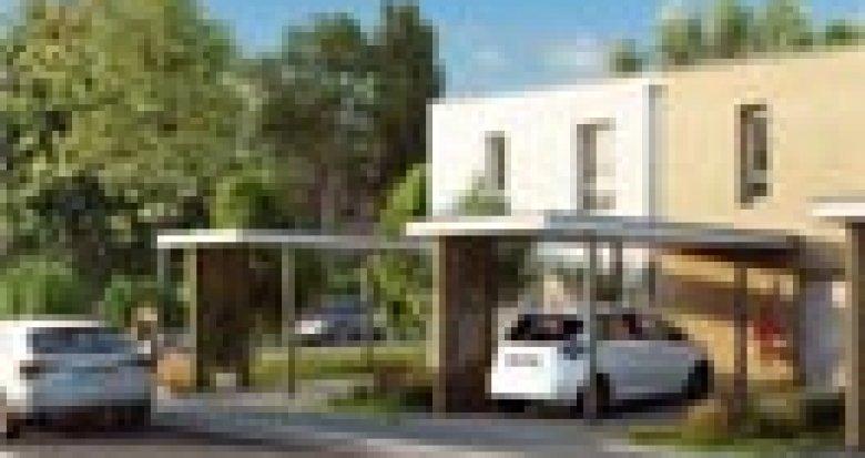 Achat / Vente programme immobilier neuf Illzach proche centre Mulhouse (68110) - Réf. 3395