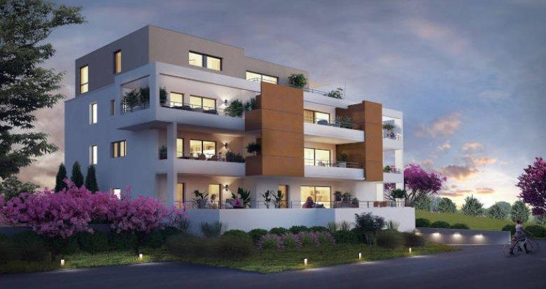Achat / Vente programme immobilier neuf Lutterbach proche centre-ville (68460) - Réf. 3647