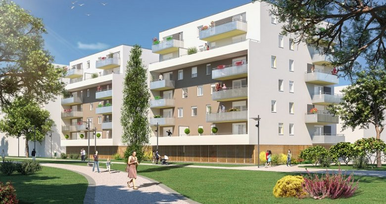 Achat / Vente programme immobilier neuf Mulhouse proche tramway (68100) - Réf. 2821