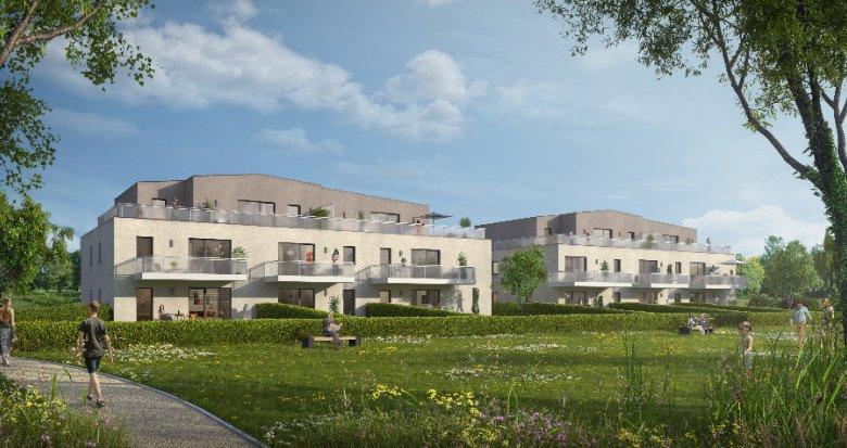 Achat / Vente programme immobilier neuf Oberhoffen dans un écrin de nature (67240) - Réf. 1508