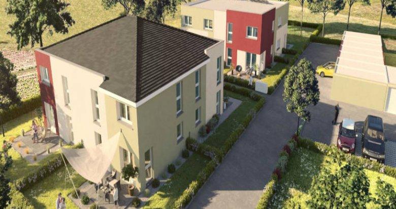 Achat / Vente programme immobilier neuf Soultz proche centre (68360) - Réf. 3418