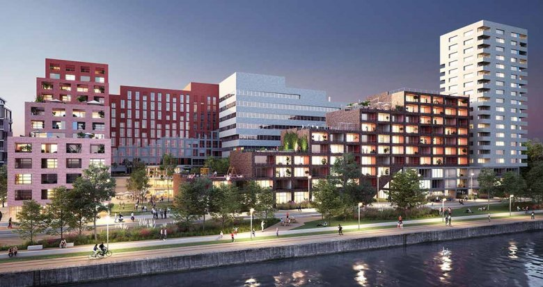 Achat / Vente programme immobilier neuf Strasbourg face au Bassin Vauban (67000) - Réf. 4002