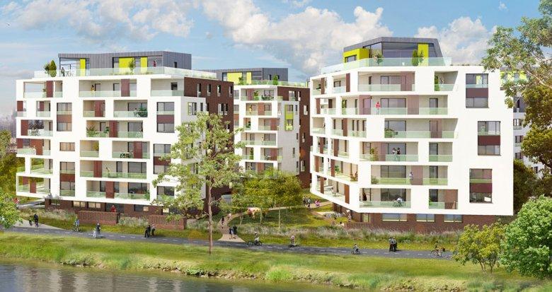 Achat / Vente programme immobilier neuf Strasbourg proche la Petite France (67000) - Réf. 1522