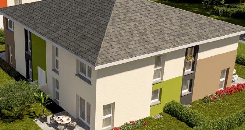 Achat / Vente programme immobilier neuf Thann proche Cernay (68800) - Réf. 3410