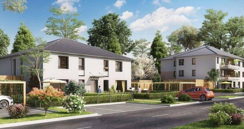 Achat / Vente programme immobilier neuf Wittenheim quartier Jeune-Bois (68270) - Réf. 924